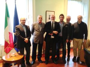 La delegazione del progetto Hostel incontrano l'Ambasciatore d'Italia a Dublino